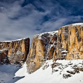 at Dolomites by Dmitry Samsonov - Landscapes Mountains & Hills ( dolomiti, colfosco, alta badia, dolomites, italy, alps,  )