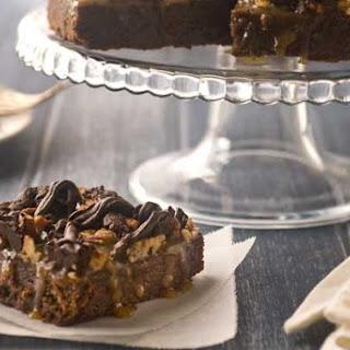 Gluten Free Caramel Pecan Brownie