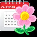 Woman diary (calendar) icon
