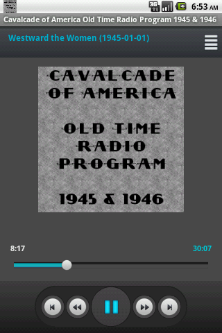 Cavalcade of America OTR V.VI