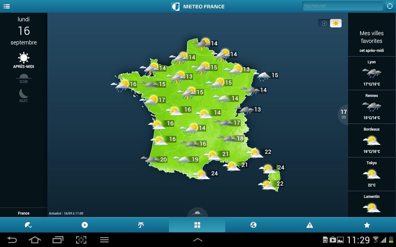 Météo-France - screenshot