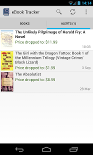 eBook Price Tracker - screenshot thumbnail