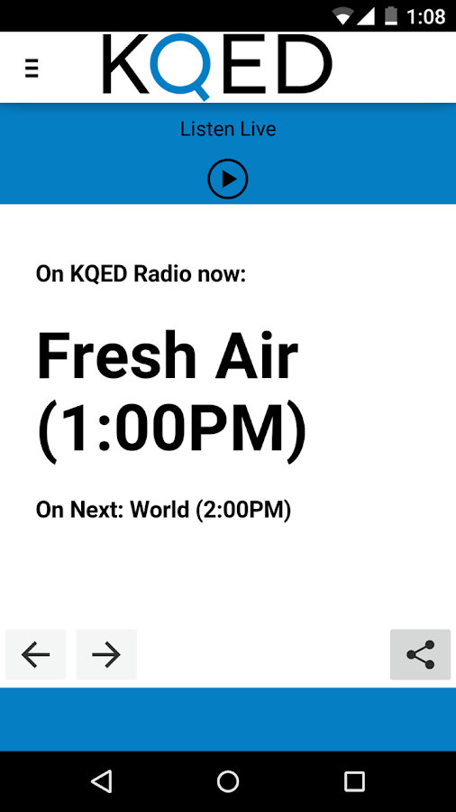 KQED - screenshot