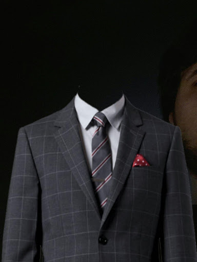 Man Suit Maker Photo Montage
