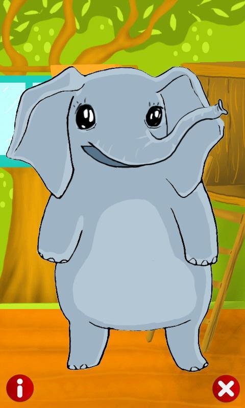 Talking Elly Elephant - screenshot