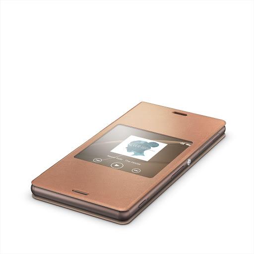 Xperia™桌布︰銅色