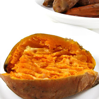 Just Delicious Baked Sweet Potatoes.