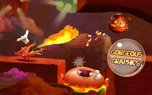 Rayman Fiesta Run Screenshot 28