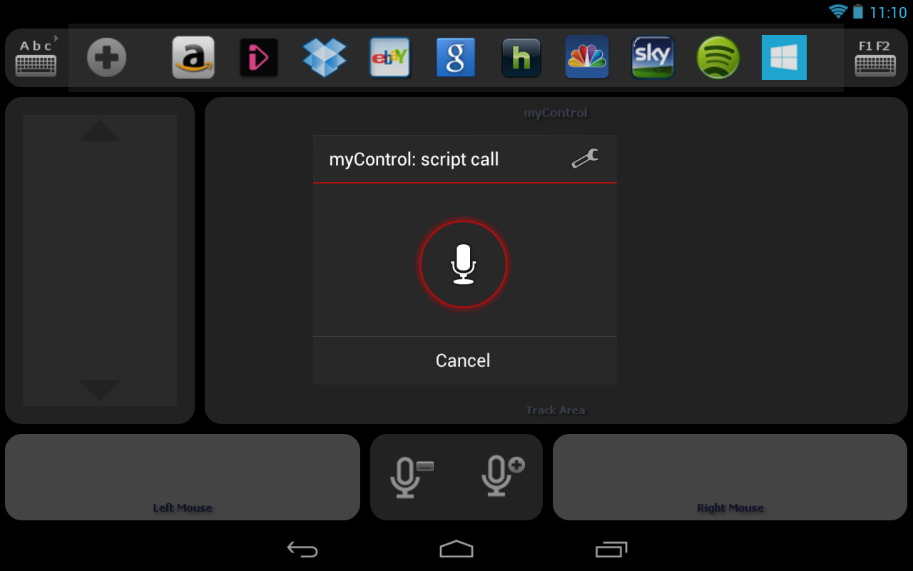 my Control Pro (PC)- screenshot