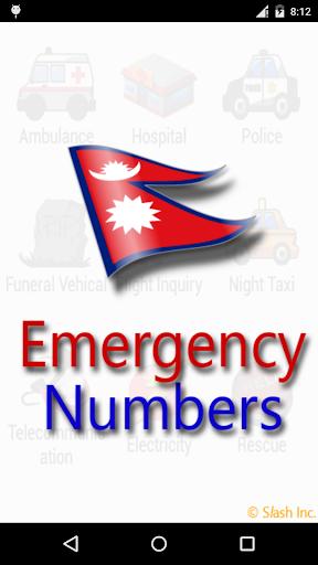 Nepal Emergency Numbers