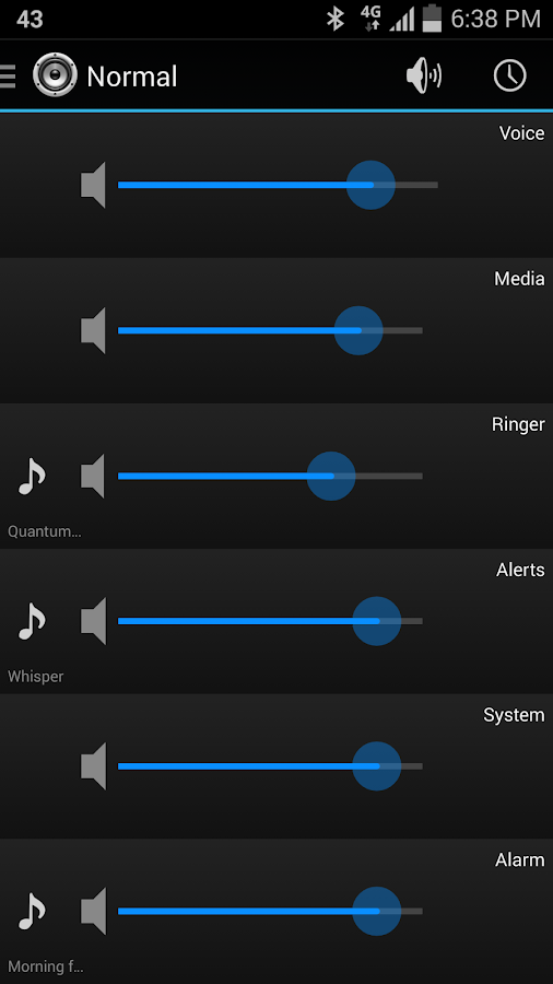 AudioGuru | Audio Manager - screenshot
