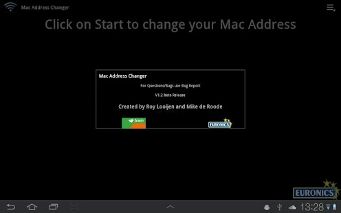 Mac Address Changer - screenshot thumbnail