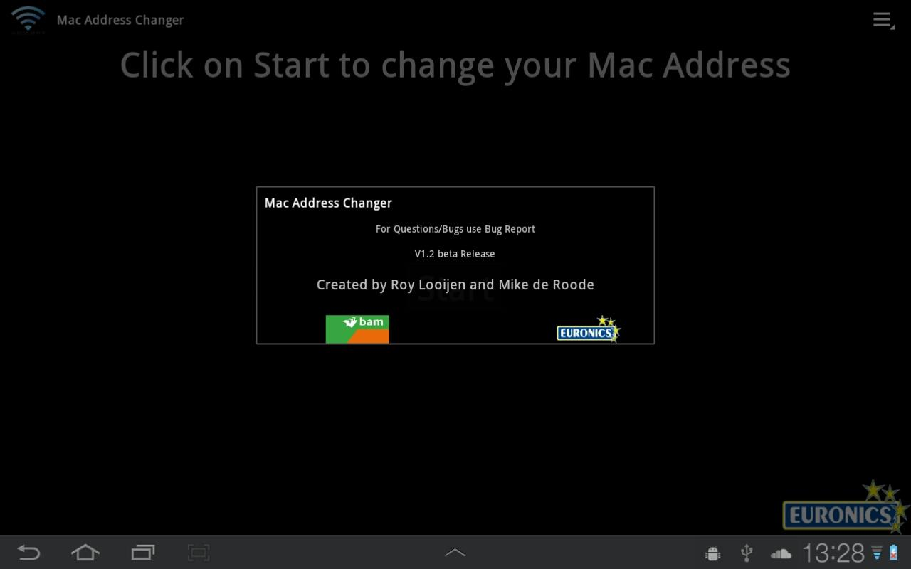 Mac Address Changer - screenshot