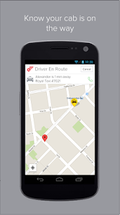 Flywheel - The Taxi App- screenshot thumbnail