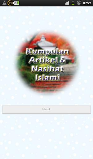 Artikel Nasihat Islami