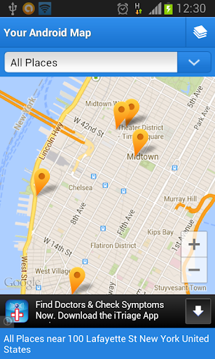 Your Android Map Demo