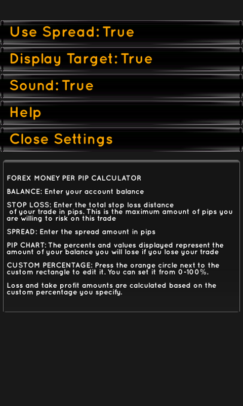 Forex pip profit calculator