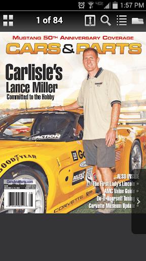 Cars Parts Magazine