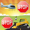 Vehicles Brain Game for Kids icon
