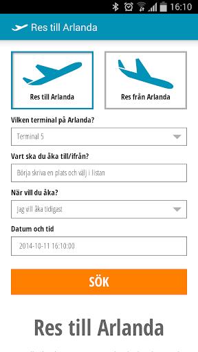 Travel to Arlanda