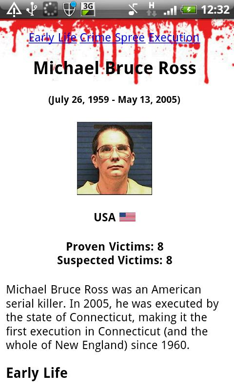 Serial Killer Encyclopedia - screenshot