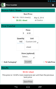 Price Cruncher - Price Compare screenshot 10
