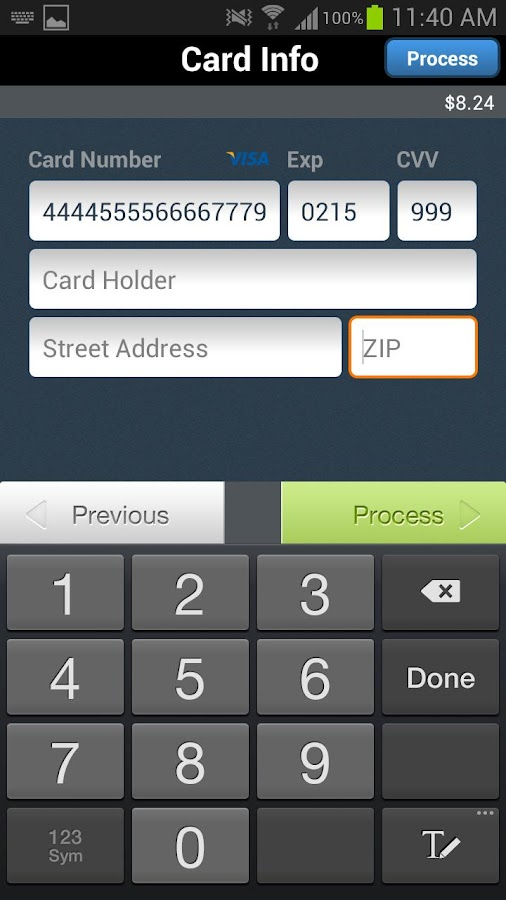 FideliPAY - screenshot