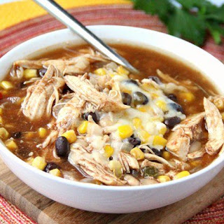 Slow-Cooker BBQ Chicken Soup.