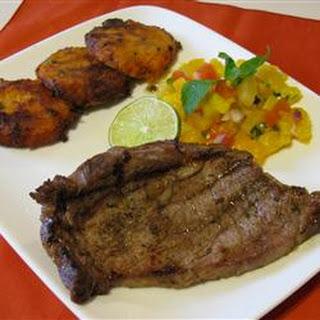 Caribbean Beef Loin Steaks