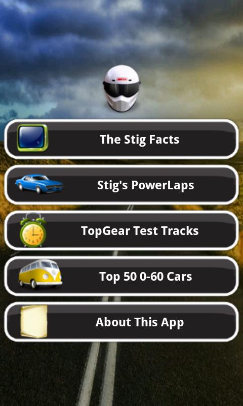 The Stig Facts- screenshot