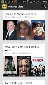 IMDb Movies & TV v5.5.0.105500100
