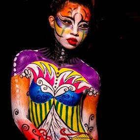 The Anatomy of an Albayano by Krizzel Almazora - People Body Art/Tattoos ( nude, albay, art, beauty, body paint )