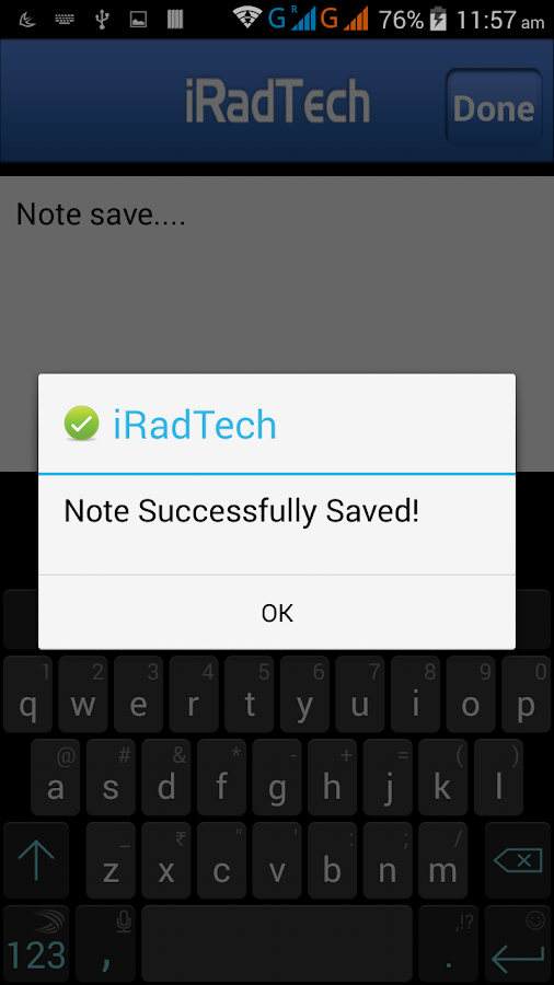 iRadTech- screenshot