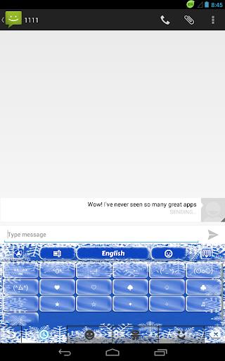 免費下載娛樂APP|GOキーボード冷凍の雪 app開箱文|APP開箱王
