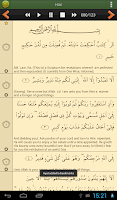 Screenshot of Quran Lite (English)