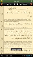Screenshot of Al'Quran Bahasa Indonesia PRO