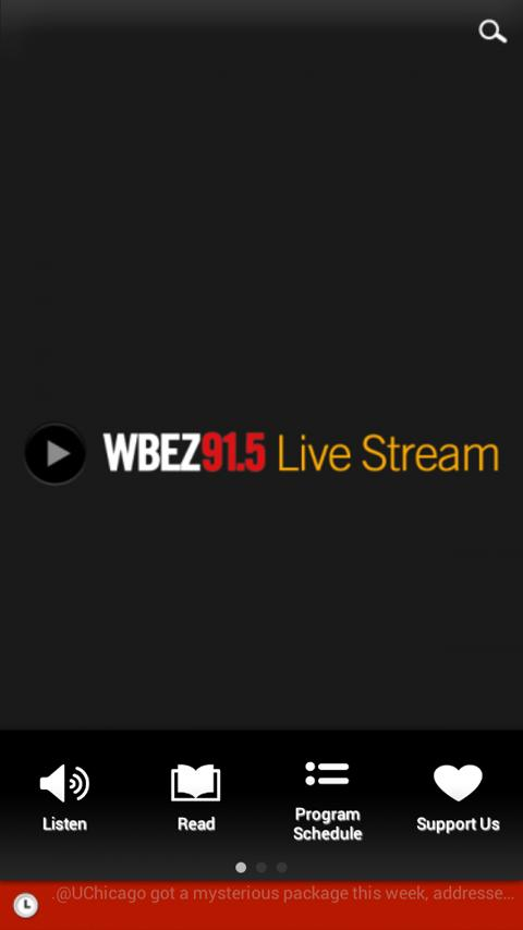 WBEZ - screenshot
