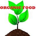 audio book – organic food logo