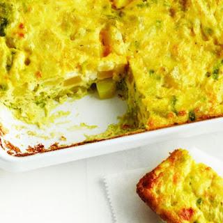 Baked Leek, Potato, and Parmesan Frittata