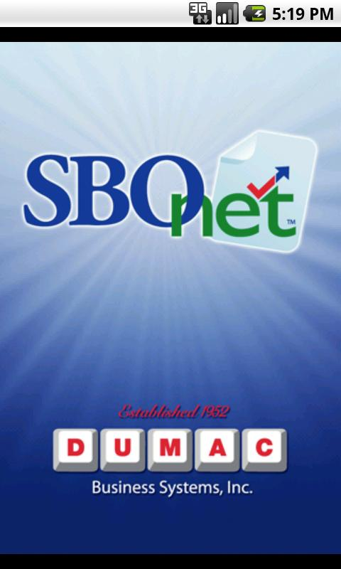 SBOnet- screenshot