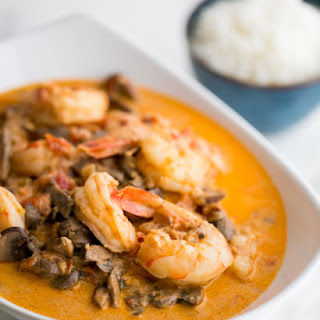Shrimp and Mushroom Sauce