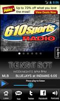 Screenshot of 610 Sports - KCSP