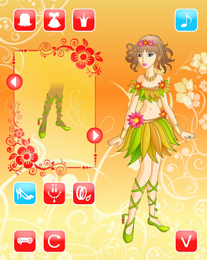 Dressup Princess Girl