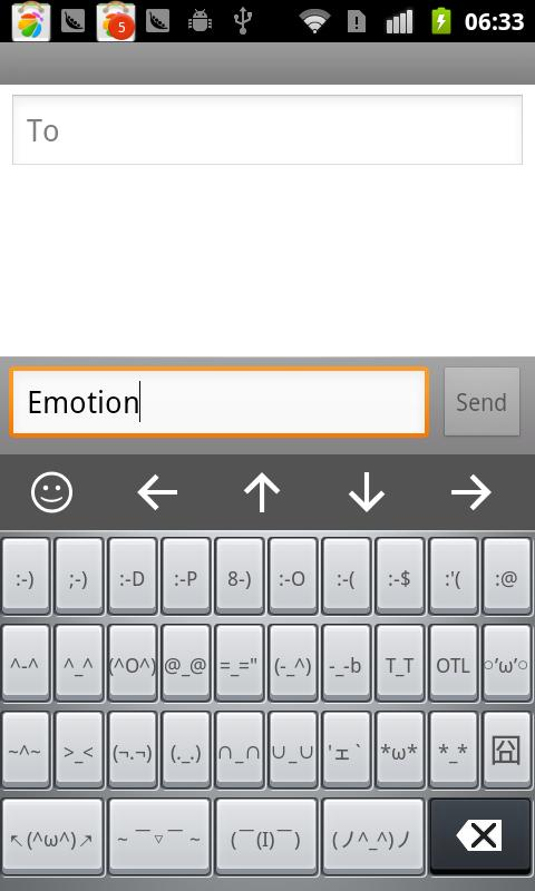French for Linpus Keyboard - screenshot