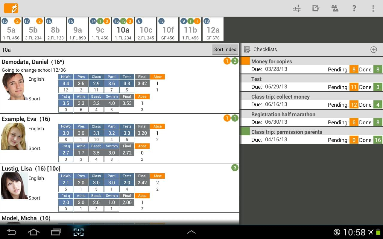 TAPUCATE - Teacher App - screenshot