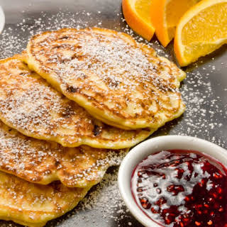 MauiJim's Lightest Ever Cottage Cheese Pancakes.