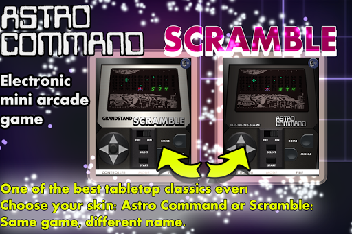 Scramble Astro Command 1980s