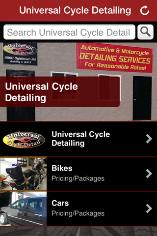 Universal Cycle Detailing