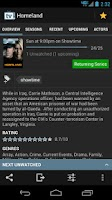 Screenshot of TV Show Favs