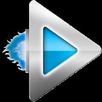 Rocket Player Light Blue Theme 2.0.8